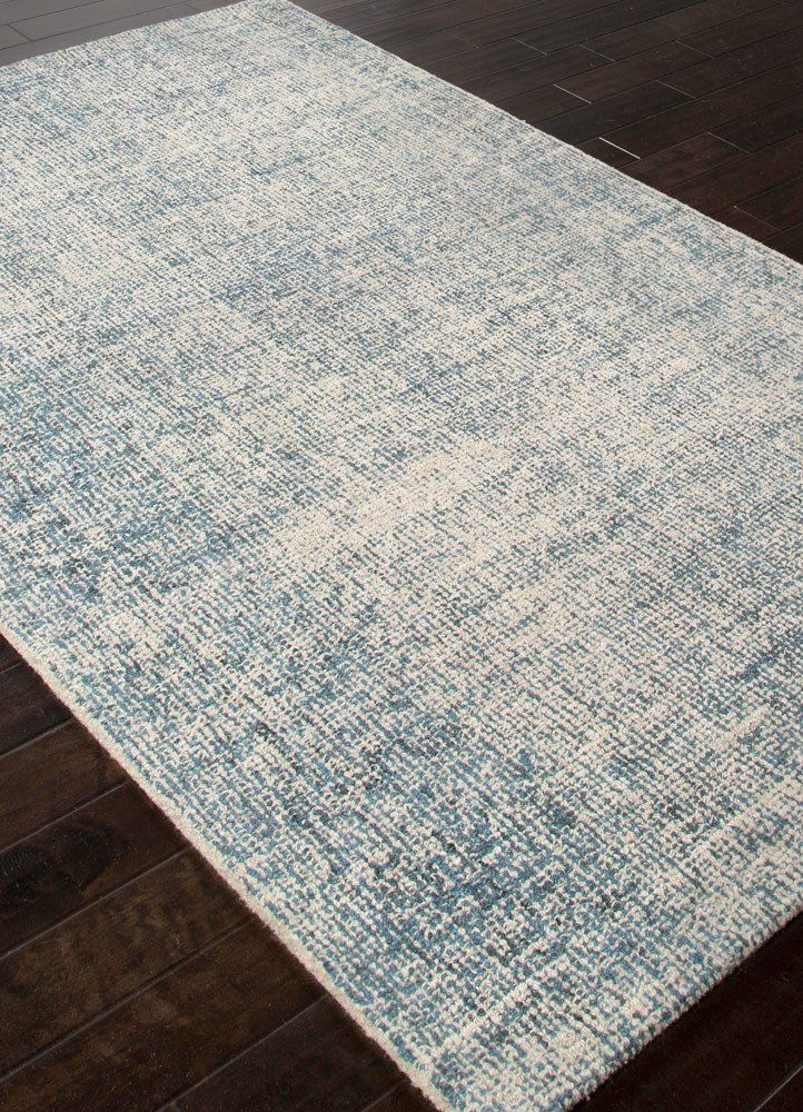 Oland Handmade Abstract Blue Light Gray Area Rug Jaipur Rugs Area Rugs 4x6 Area Rugs