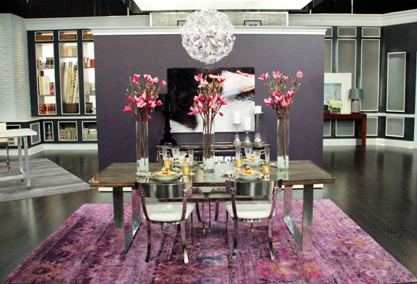 Glamorous Dining Rooms | ... Modern Glam Dining Room Fit For The Ultimate  Fine