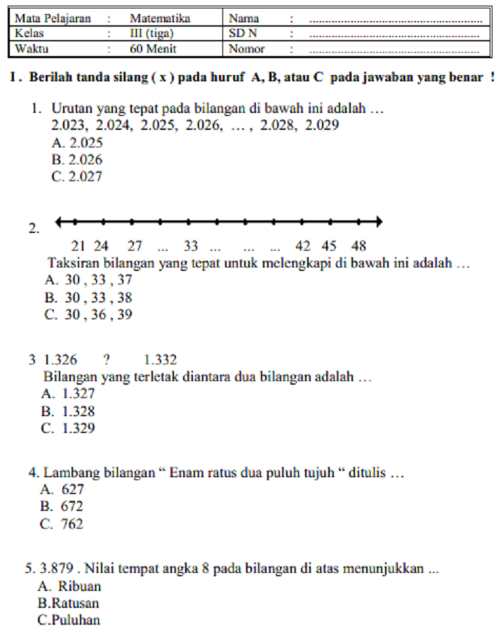 Soal Ips Kelas 7 Semester 1 Kurikulum 2013 Dan Jawabannya