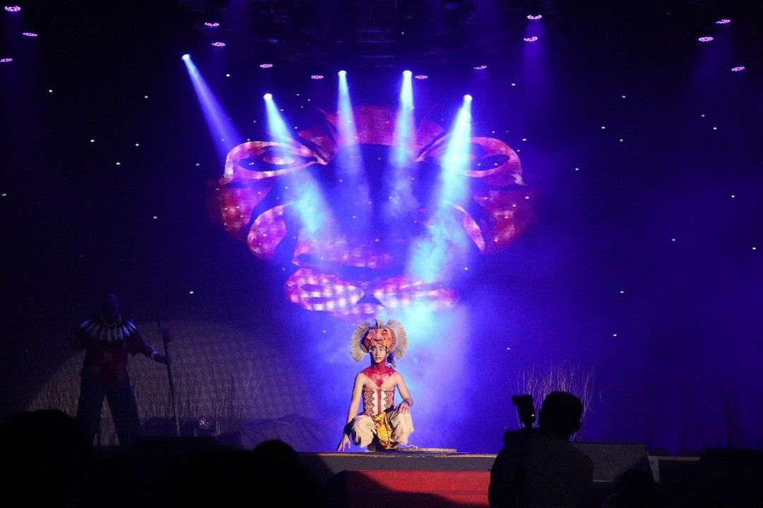 Sri Utama Schools Kl Malaysia Lion King Musical Scene 13 He Lives In You Lion King Jr Lion King Musical He Lives In You