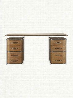 Elliot Industrial Desk Desk Home Arhaus Furniture