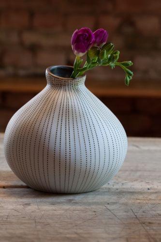 Keramikvase Asymmetric Nordic Sands - small