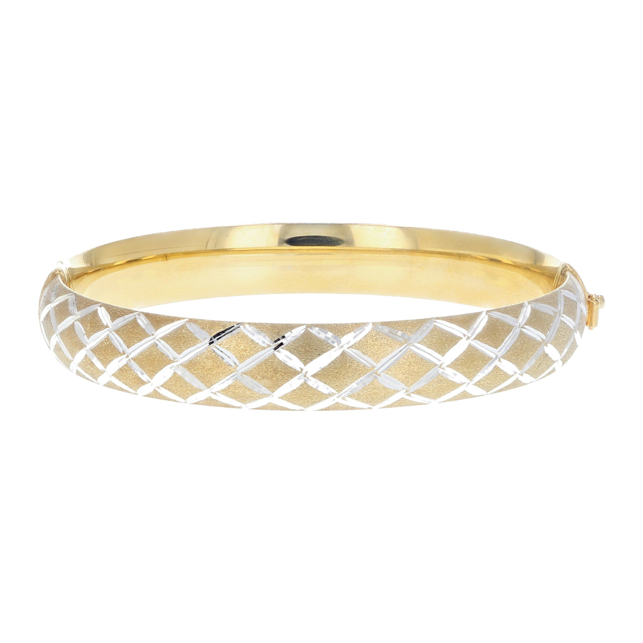 polka silver gold ed bangle bracelets bangles in with ball sterling and bracelet levin