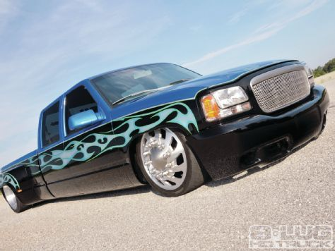 94 Chevy crew cab dually benefits from a '99 Escalade front