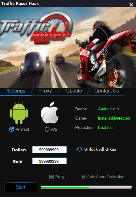 Traffic Rider Hack ? Add 99,999 Cash, Gold, Keys and More