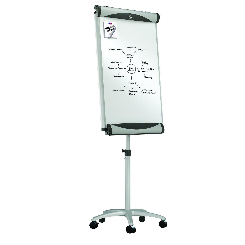 Amazonsmile Quartet Euro Premium Mobile Magnetic Easel Whiteboard Flipchart 27 X 41 Inches Eu2000te Dry Erase Board Easel Magnetic White Board Flip Chart