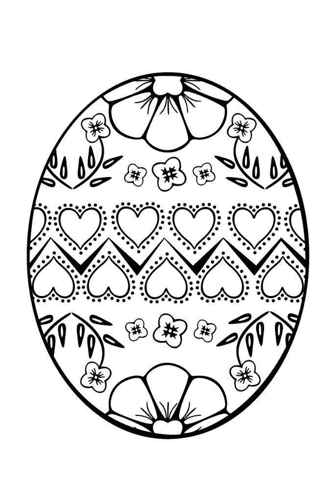 Раскраски пасхальных яиц | Искусство шитья, Машинная вышивка