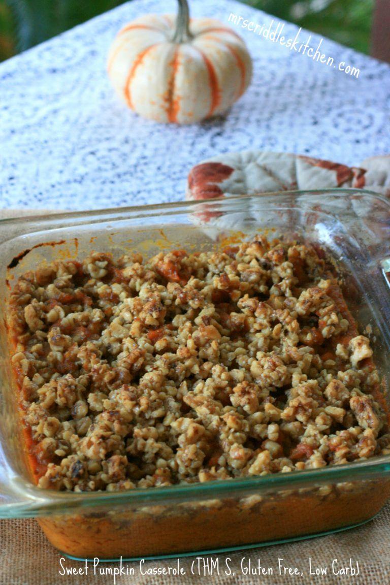 A lower carb gluten free take on a sweet potato