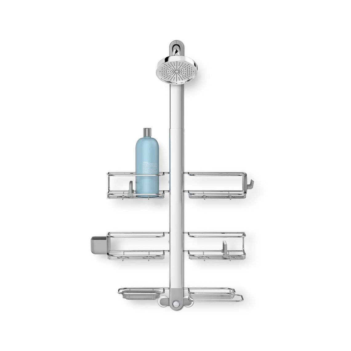 Best Adjustable Shower Caddy Stainless Steel Anodized 640 x 480