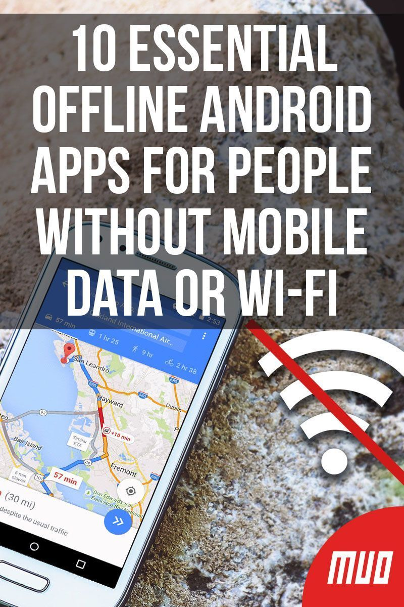10 Essential Offline Android Apps for People Without