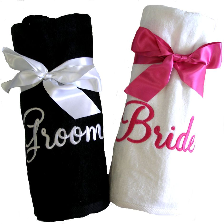 Click To See All Our Great Personalized Gifts Bride Or Groom Beach Towel Mr Bridesmaid