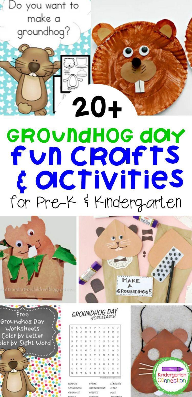 Fun Groundhog Day Activities For Kids In 2021 Groundhog Day Activities Winter Kindergarten Activities Kindergarten Learning Activities [ 1550 x 750 Pixel ]