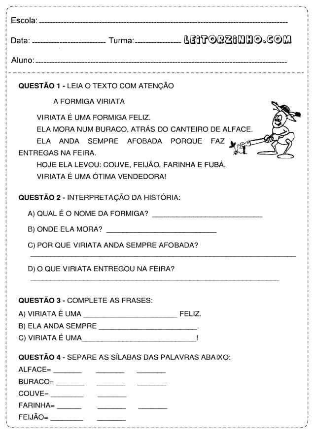 Pin De Jamile Meyre De Oliveira Em Portugues Atividade