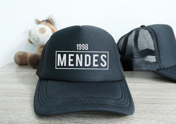 Mendes 1998 Shawn Mendes Trucker Hat Baseball Cap by llSKYLinell