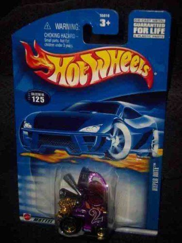#2002-125 Hyper Mite White HW Logo Malaysia Collectible Collector Car Mattel Hot Wheels by Hot Wheels. $2.49. Perfect Hot Wheels Diecast for every collector!. A Perfect Addition To Any Hot Wheels Collection!. Fun For All Ages! Serious Collectors And Kids Alike!. Great Investment For Any Hot Wheels Collector.. Diecast Metal Hot Wheels Car Perfect For That Hot Wheels Collector!. #2002-125 Hyper Mite White HW Logo Malaysia Collectible Collector Car Mattel Hot Wheels
