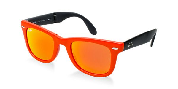 4d5f5b1b7c Ray-Ban RB4105 FOLDING WAYFARER 50 Sunglasses
