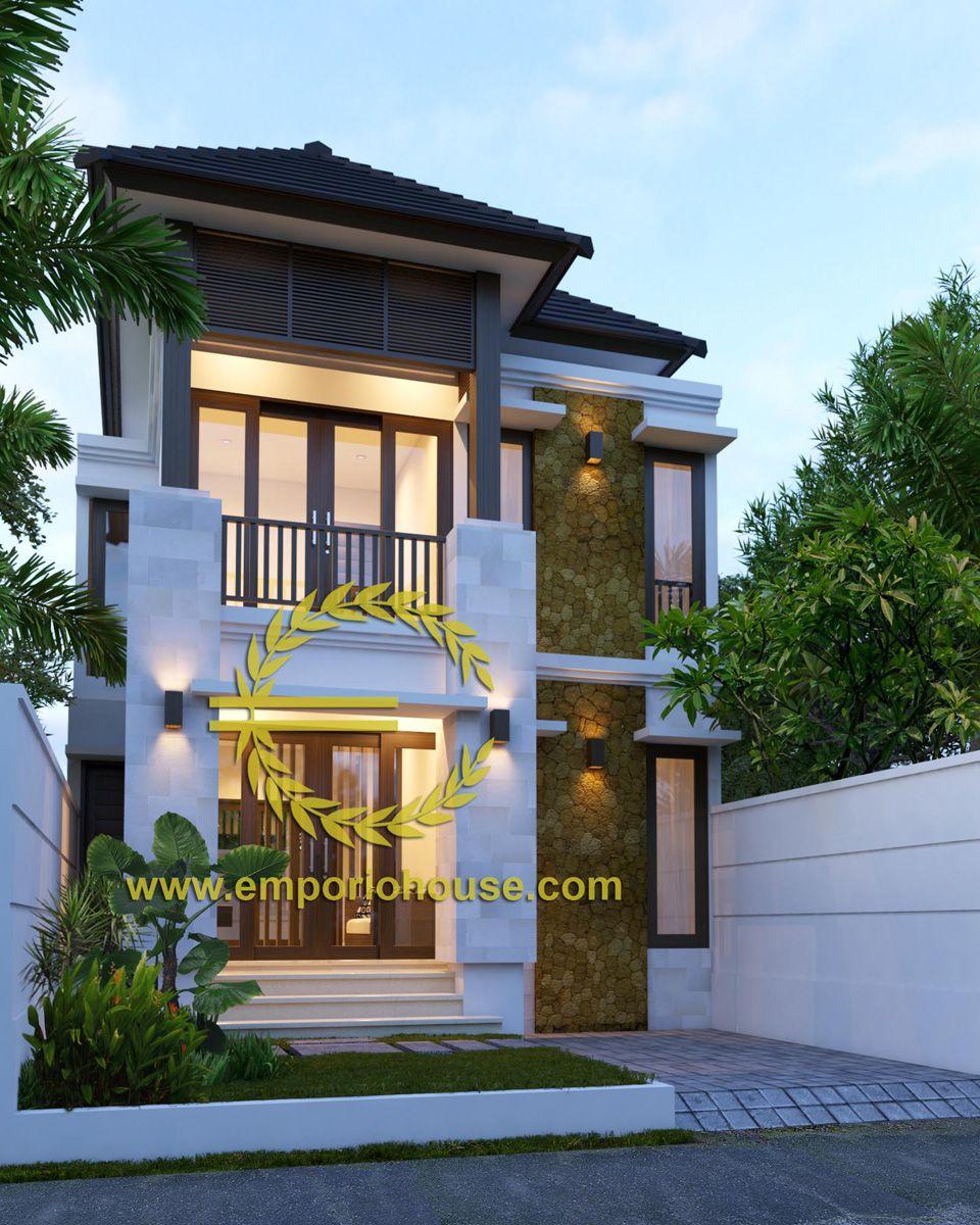 Desain Rumah 1 Lantai 3 Kamar Lebar Tanah 7 Meter Dengan Ukuran