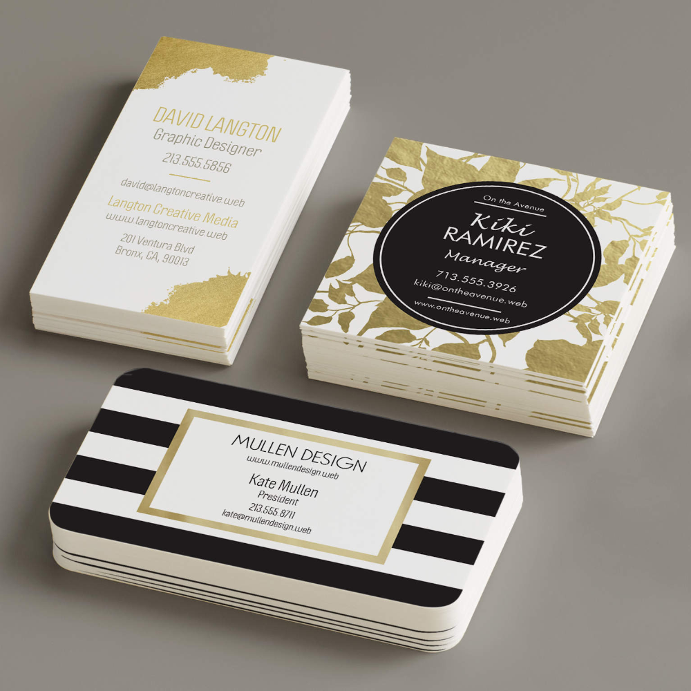 Vistaprint Cool Business Cards Business Card Design Plastic Business Cards