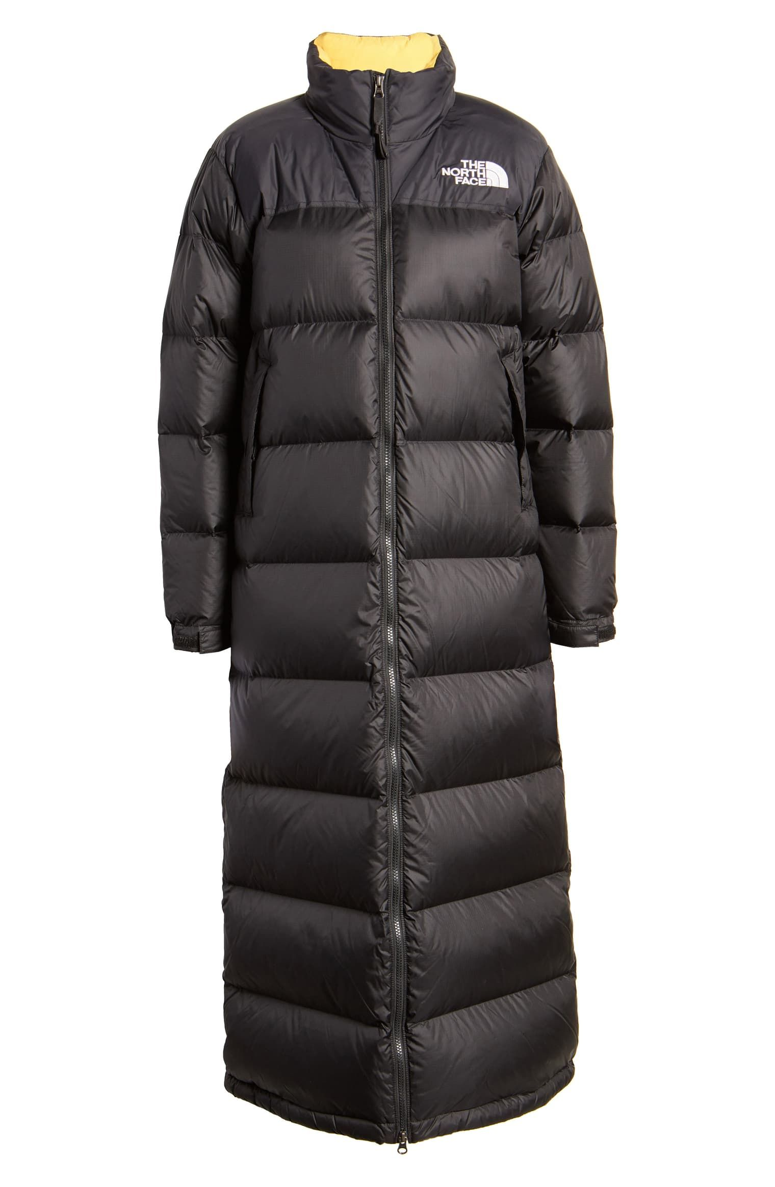The North Face Nuptse Long Water Repellent Down Coat Nordstrom North Face Nuptse Down Coat The North Face [ 2328 x 1520 Pixel ]