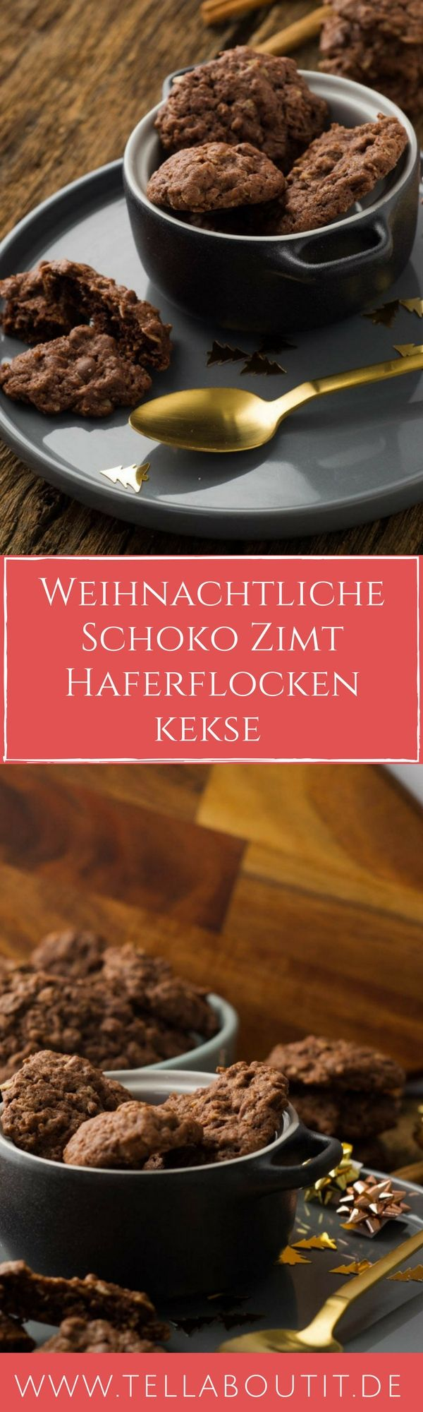 schoko haferflockenkekse mit zimt rezept kochen schoko pl tzchen und zimt. Black Bedroom Furniture Sets. Home Design Ideas