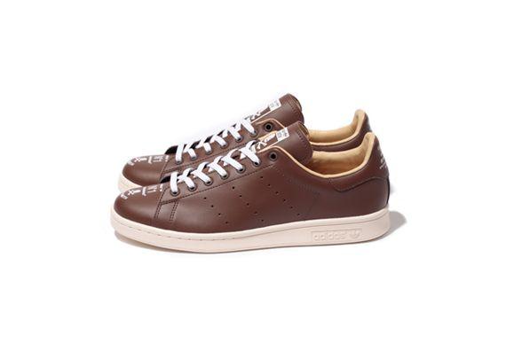 adidas original stan smith brun