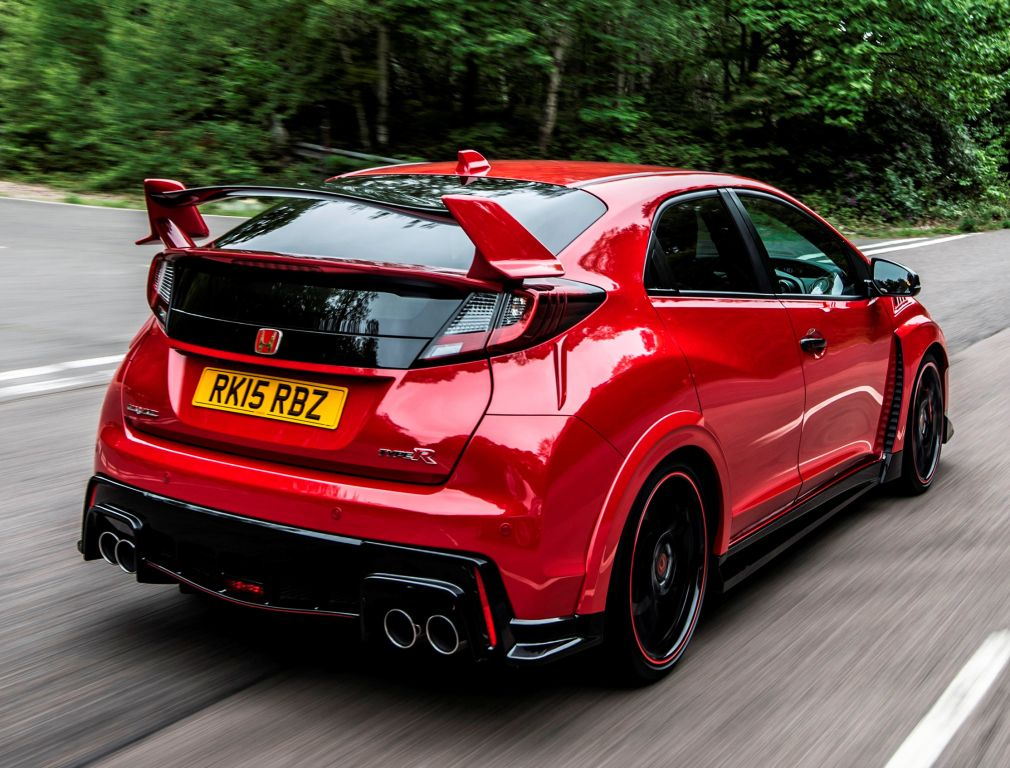 Honda Civic Type R UKspec '2015 Автомобиль