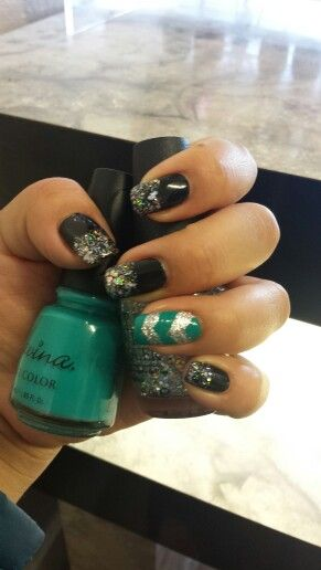 Savina Color Marine Life And Opi Color Which Is Witch Done By