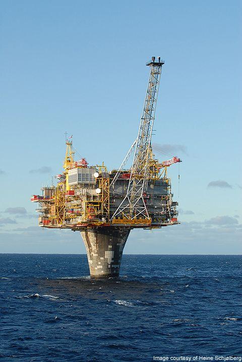 Draugen oil field crude oil   RIG in 2019   Oil platform