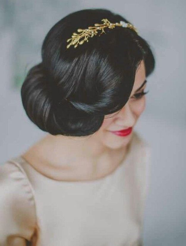 30 Idees Coiffure De Mariage Sur Pinterest Coiffure Mariee Chignon Mariee Jolie Coiffure
