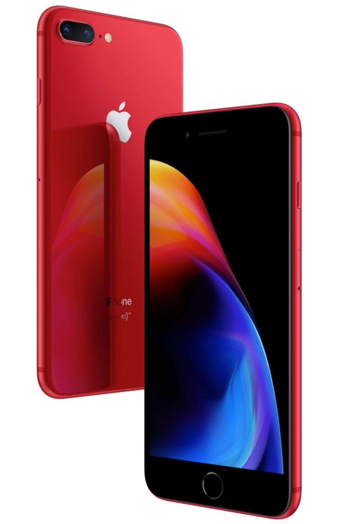 cc1bc8f72 Apple iPhone® 8 Plus 64GB Red - Main Image  3