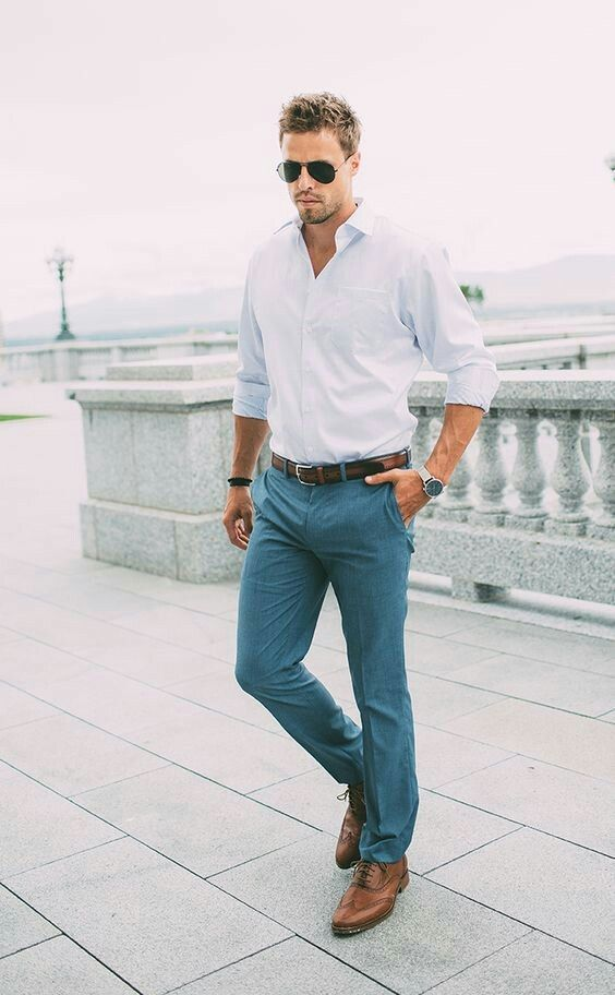 exceptional range of styles and colors new season hot-selling latest Chinos and Oxford w/dress shoes | style in 2019 | Mens ...