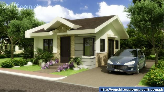 Asian Tropical Modern Bungalow House Design Bungalow House