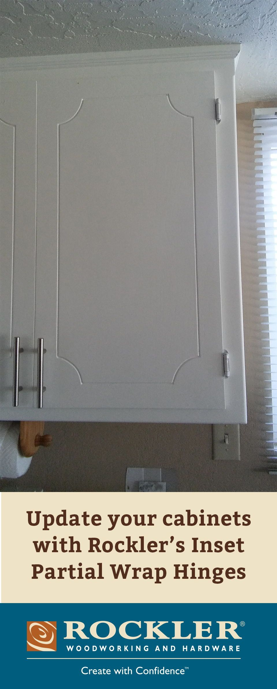 Low Profile Hinge With Only The 2 Long Barrel Showing Kitchen Cabinets Door Hinges Inset Hinges Kitchen Cabinets Fronts