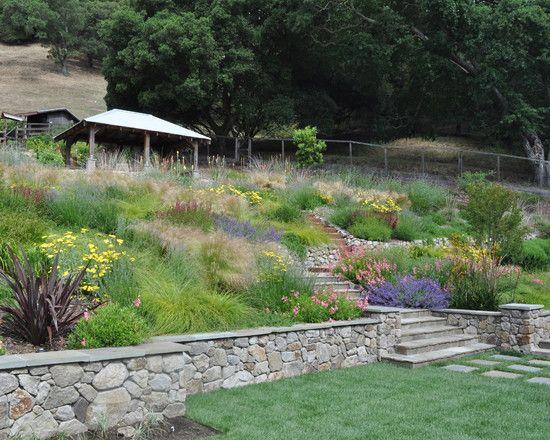 Hillside Planting Design Pictures Remodel Decor And Ideas Hillside Landscaping Landscape Design Landscaping On A Hill,Girly Car Interior Design Ideas