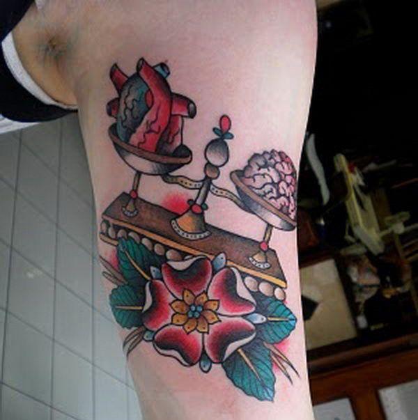 Libra tattoo 18
