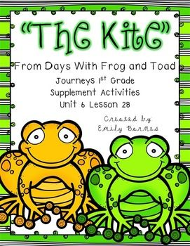 The kite from days with frog and toad pinterest grade spelling the kite from days with frog and toad supplement activities journeys 1st grade spelling activities story structure vocab and more fandeluxe Images