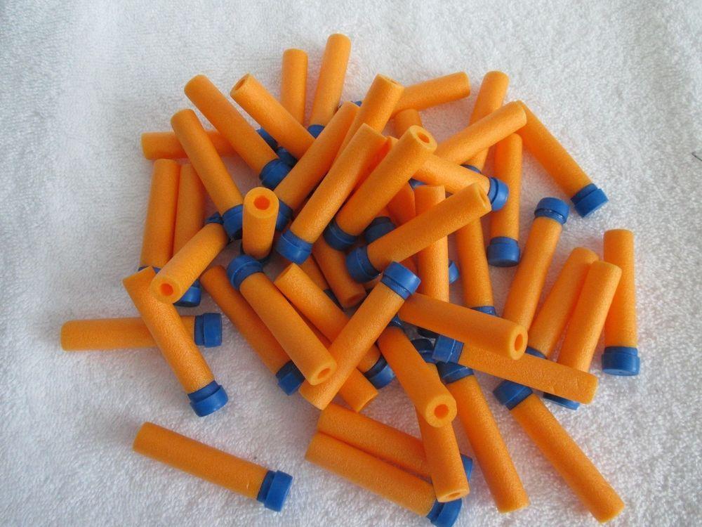 250 New Air Darts Soft Foam Orange Lot Nerf Gun Fun Refill #NERF#darts