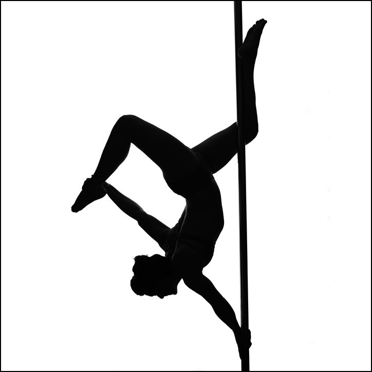 Download My one handed butterfly as a silhouette | Pole dance ...