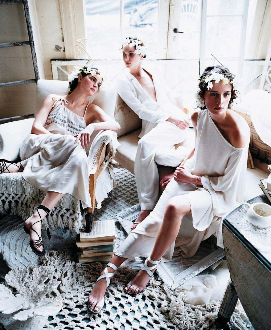 lucid dreaming by steven meisel for vogue