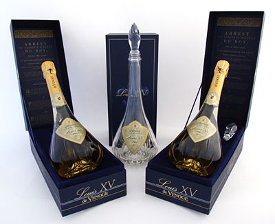 Cuv e Louis XV Champagne. The 1995 vintage of Champagne has ...