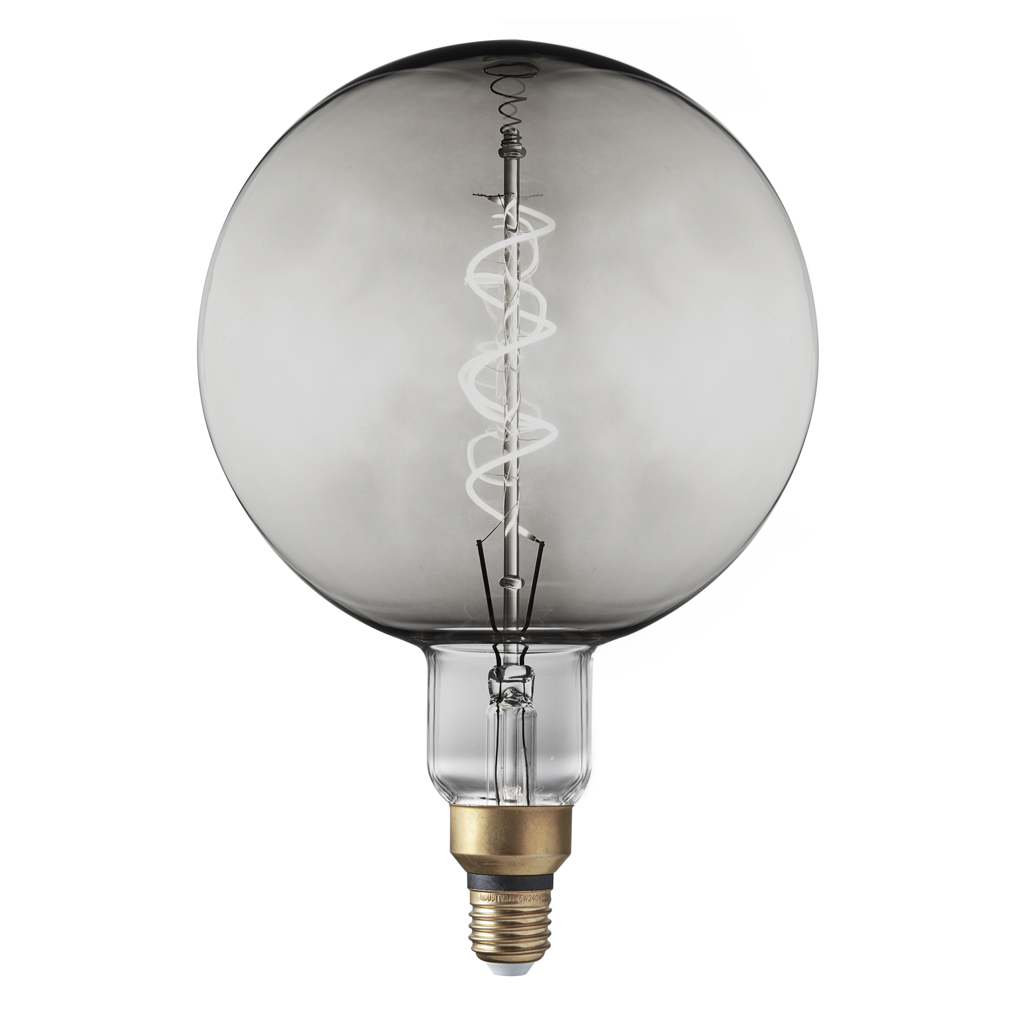 Vintage LED Edison Bulb Old Filament Lamp - 5W E27 Spiral Globe G200 ...