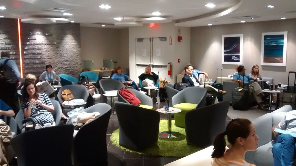 Aer Lingus Boston Lounge Review Hotel Points Lounge Business Class