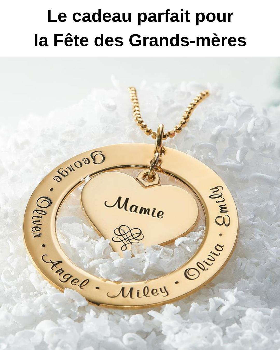 collier femme mamie