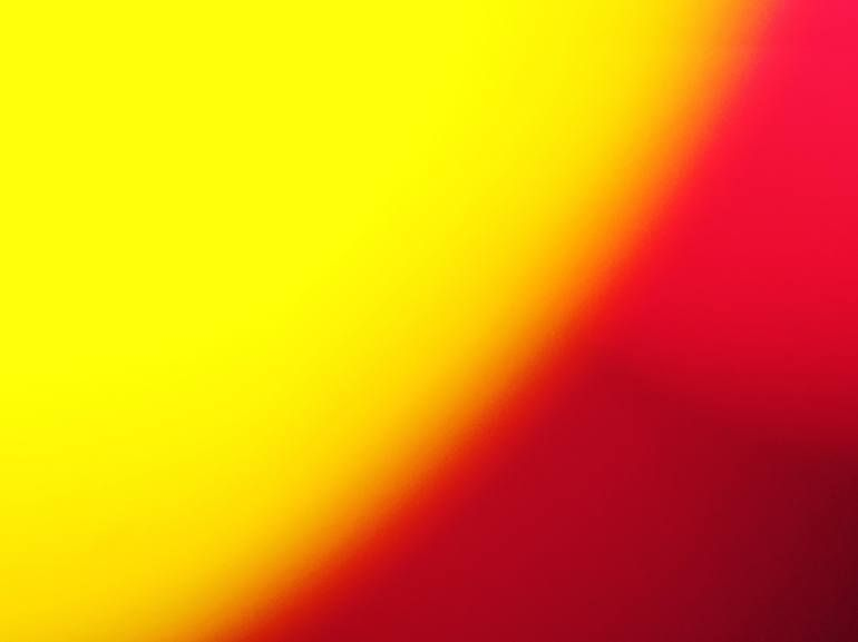 Original Abstract Photography by Botros Saied | Abstract Art on Paper | Color Itself 0020 - Meditation - Limited Edition of 75