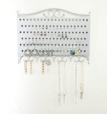 Mango Steam WallMounted Jewelry Earring Organizer Brilliant
