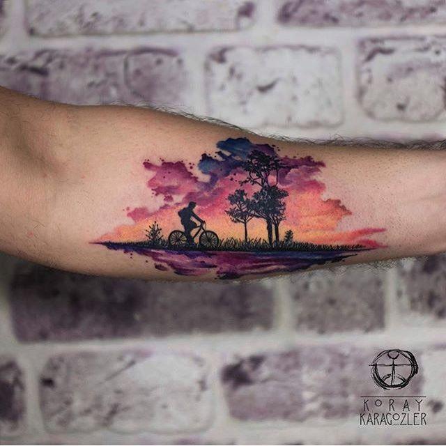 Tattoos, Watercolor Tattoo