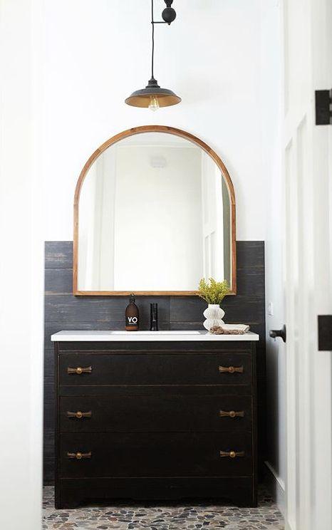 pin by marie doyle on bathroom inspo custom homes round on custom bathroom vanity mirrors id=61464