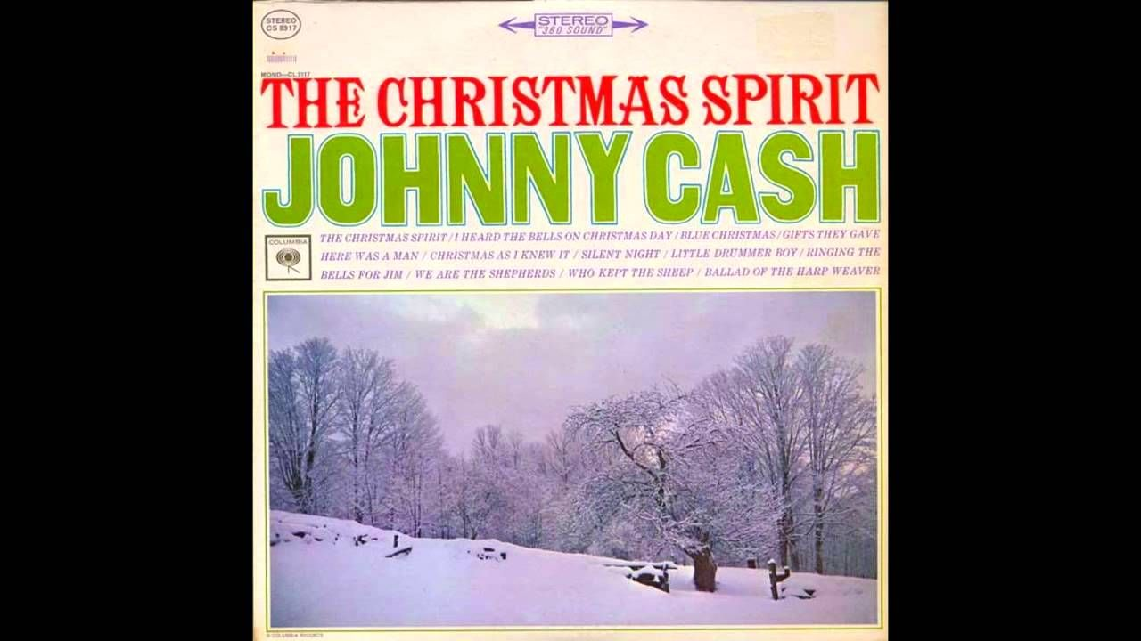 Johnny Cash - The Christmas Spirit (Full Album) | Great Music stuff ...