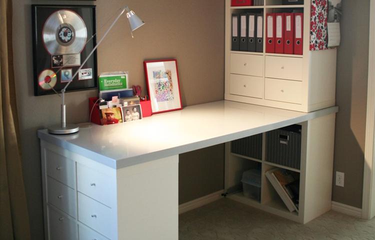 Kallax bureau combinatie kallax kast ikea hack kallax desk