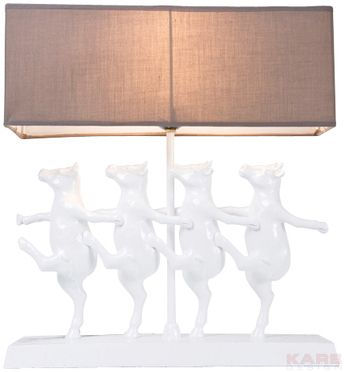 Kare Dancing Cows Lamparas De Mesa Decoracion De Unas Lampara